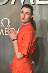© Licensed to London News Pictures. 26/04/2017. London, UK. ERIN O'CONNOR attends the Omega party celebrating 60 Years of the Speedmaster watch. Photo credit: Ray Tang/LNP