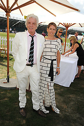 NICKY HASLAM and COLETTE VAN DEN THILLART at the Cartier International Polo at Guards Polo Club, Windsor Great Park on 27th July 2008.<br /> <br /> NON EXCLUSIVE - WORLD RIGHTS
