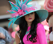 Longines Kentucky Oaks Day, Friday, May 1, 2015, in Louisville, Ky. Longines, the Swiss watch manufacturer known for its luxury timepieces, is the Official Watch and Timekeeper of the 141st annual Kentucky Derby. (Photo by Diane Bondareff/Invision for Longines/AP Images)