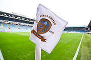 A general view of the corner flag before the EFL Cup match between Leeds United and Stoke City at Elland Road, Leeds, England on 27 August 2019.