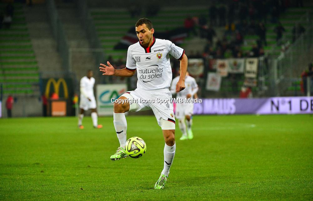 Carlos EDUARDO - 06.12.2014 - Caen / Nice - 17eme journee de Ligue 1 -<br />Photo : Dave Winter / Icon Sport