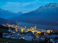 Saint Moritz lake