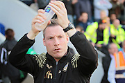 Milwall manager Neil Harris before the Sky Bet League 1 play-off second leg match between Millwall and Bradford City at The Den, London, England on 20 May 2016. Photo by Nigel Cole.