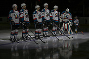KELOWNA, CANADA - MARCH 07:  Pepsi Player in the Lineup at the Kelowna Rockets game on March 07, 2017 at Prospera Place in Kelowna, British Columbia, Canada.  (Photo By Cindy Rogers/Nyasa Photography,  *** Local Caption ***