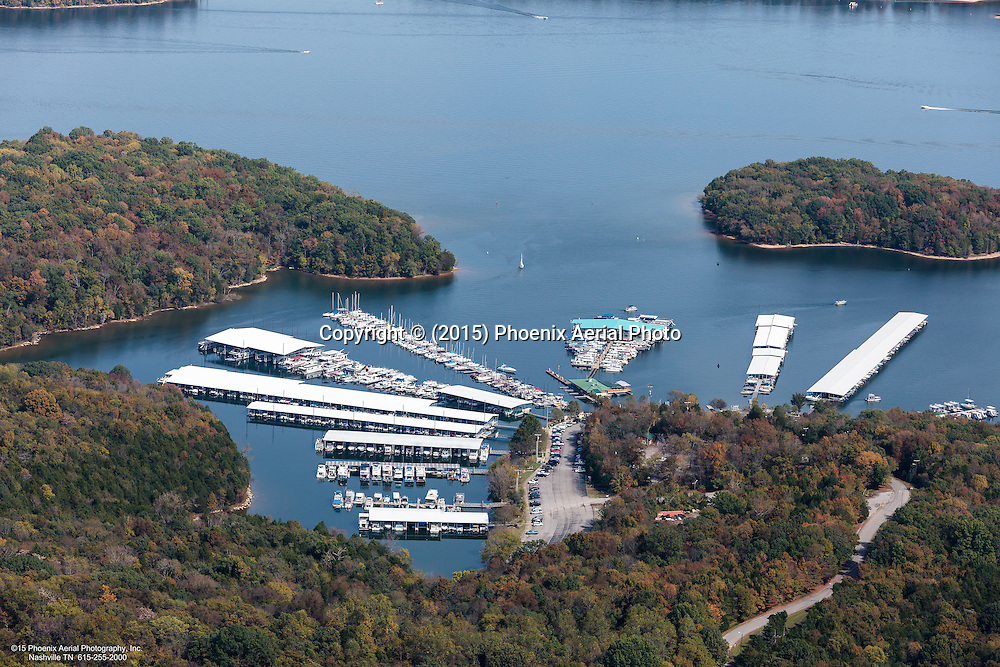 Aerial Photo Of Elm Hill Marina On Percy Priest Lake In Nashville Tennessee