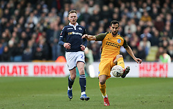 Beram Kayal of Brighton and Hove Albion controls the ball - Mandatory by-line: Arron Gent/JMP - 17/03/2019 - FOOTBALL - The Den - London, England - Millwall v Brighton and Hove Albion - Emirates FA Cup Quarter Final