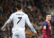032314 Real Madrid vs. F.C. Barcelona. La Liga football match