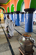 Nagore. Till for collecting alms - main access to dargah Shrine.