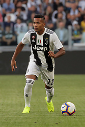 October 20, 2018 - Turin, Turin, Italy - Alex Sandro #12 of Juventus FC in action during the serie A match between Juventus FC and Genoa CFC at Allianz Stadium on October 20, 2018 in Turin, Italy. (Credit Image: © Giuseppe Cottini/NurPhoto via ZUMA Press)