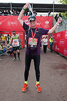 Chris Evans (Radio 2 presenter running for Children In Need). The Virgin Money London Marathon, 23rd April 2017.<br /> <br /> Photo: Joanne Davidson for Virgin Money London Marathon<br /> <br /> For further information: media@londonmarathonevents.co.uk