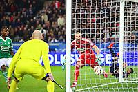But Ezequiel LAVEZZI - 08.04.2015 - Paris Saint Germain / Saint Etienne - 1/2Finale Coupe de France<br /> Photo : WinterPress / Icon Sport