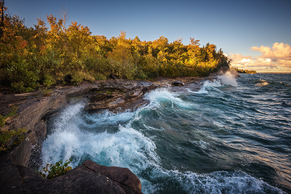 Lake Superior Shoreline, Michigan