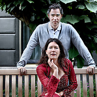 Nederland, Amsterdam , 22 juni 2012..Mezzo sopraan Merel Huizinga en Turkse bariton Sinan Vural. Een muzikale ontmoeting tussen klassieke musici uit Turkije en Nederland..Foto:Jean-Pierre Jans