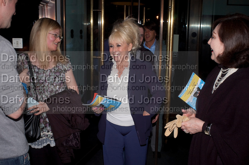 BARBARA WINDSOR, The aftershow party for PYGMALION. National Gallery Gallery CafŽ, London.  May 25, 2011,<br /> <br /> <br /> <br />  , -DO NOT ARCHIVE  Copyright Photograph by Dafydd Jones. 248 Clapham Rd. London SW9 0PZ. Tel 0207 820 0771. www.dafjones.com.<br /> BARBARA WINDSOR, The aftershow party for PYGMALION. National Gallery Gallery Café, London.  May 25, 2011,<br /> <br /> <br /> <br />  , -DO NOT ARCHIVE  Copyright Photograph by Dafydd Jones. 248 Clapham Rd. London SW9 0PZ. Tel 0207 820 0771. www.dafjones.com.