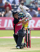 Sophie Devine bats during the international T20 between South Africa Women and the White Ferns at the Brightside Ground, Bristol. Photo: Graham Morris/www.photosport.nz 28/06/18 NZ USE ONLY