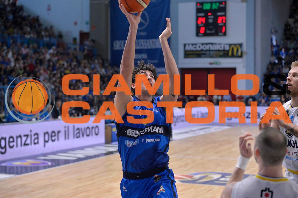 Marco Lagana<br /> Vanoli Cremona - Germani Basket Brescia Leonessa<br /> Lega Basket Serie A 2016/2017<br /> Cremona, 09/04/2017<br /> Foto M.Ceretti / Ciamillo - Castoria