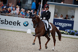 Helgstrand Andreas, DEN, Springbank Vh<br /> Longines FEI/WBFSH World Breeding Dressage Championships for Young Horses - Ermelo 2017<br /> © Hippo Foto - Dirk Caremans<br /> 05/08/2017