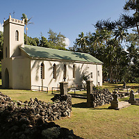 Molokai, Kalaupapa, St Philomena Church