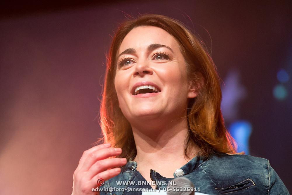 NLD/Uitgeest/20170207 - Uitreiking 100% NL Awards 2016  Kim-Lian van der Meij