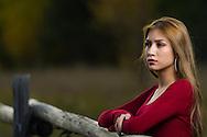 Melissa's Senior Outdoor Portrait Session in Aspen, Colorado