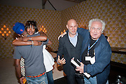 PHARREL WILLIAMS; NAOMI CAMPBELL; CRAIG ROBINS; TONY SHAFRAZI, , Design Miami/ Collectors preview, Miami Beach. 30 November 2010. -DO NOT ARCHIVE-© Copyright Photograph by Dafydd Jones. 248 Clapham Rd. London SW9 0PZ. Tel 0207 820 0771. www.dafjones.com.