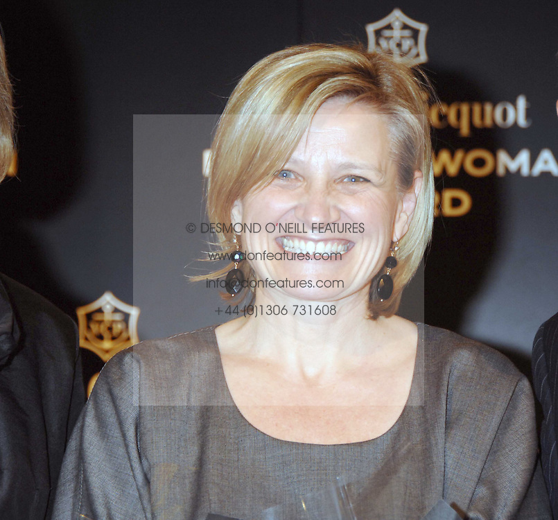 CILLA SNOWBALL Chairman &amp; Chief Executive AMV Group at the Veuve Clicquot Business Woman Award held at The Berkeley Hotel, London on 8th April 2008.<br /><br />NON EXCLUSIVE - WORLD RIGHTS
