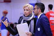 DESCRIZIONE : Brindisi  Lega A 2015-16<br /> Enel Brindisi OpenJob Metis Varese<br /> GIOCATORE : Claudia Angiolini Tullio Marino<br /> CATEGORIA : Before Pregame Curiosità<br /> SQUADRA : Enel Brindisi<br /> EVENTO : Campionato Lega A 2015-2016<br /> GARA :Enel Brindisi OpenJobMetis Varese<br /> DATA : 29/11/2015<br /> SPORT : Pallacanestro<br /> AUTORE : Agenzia Ciamillo-Castoria/D.Matera<br /> Galleria : Lega Basket A 2015-2016<br /> Fotonotizia : Brindisi  Lega A 2015-16 Enel Brindisi OpenJobMetis Varese<br /> Predefinita :