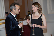 JEM SANDFORD; SARAH DOORLEY, The National Trust for Scotland Mansion House Dinner. Mansion House, London. 16 October 2013