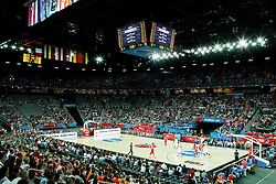 Arena during basketball match between Netherlands and Croatia at Day 5 in Group C of FIBA Europe Eurobasket 2015, on September 9, 2015, in Arena Zagreb, Croatia. Photo by Vid Ponikvar / Sportida