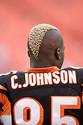 KANSAS CITY, MO - SEPTEMBER 10:  Wide receiver Chad Johnson #85 of the Cincinnati Bengals warms up before a game against the Kansas City Chiefs on September 10, 2006 at Arrowhead Stadium in Kansas City, Missouri.  The Bengals won 23 to 10.  (Photo by Wesley Hitt/Getty Images)***Local Caption***Chad Johnson