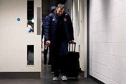 Bristol Flyers head coach Andreas Kapoulas arrives at Copper Box Arena prior to kick off - Photo mandatory by-line: Ryan Hiscott/JMP - 18/12/2019 - BASKETBALL - Copper Box Arena - London, England - London Lions v Bristol Flyers - British Basketball League Championship