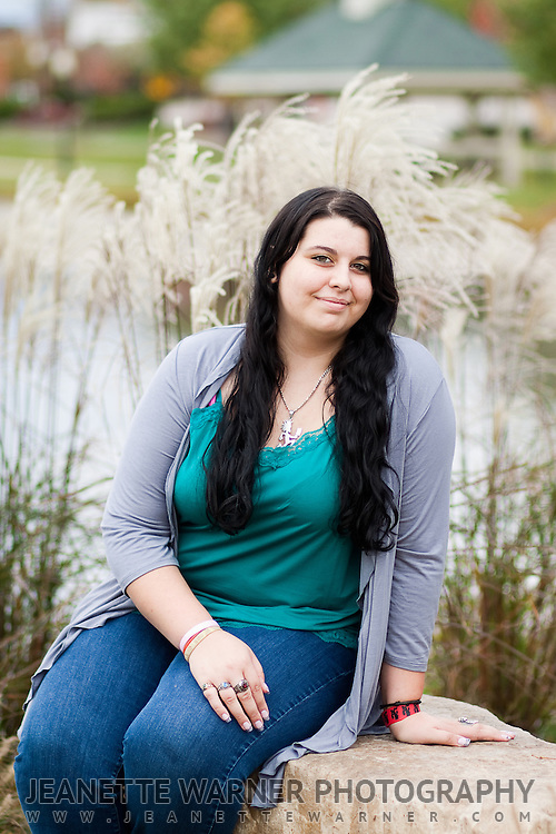 Brandy Bartlette's senior portraits in Milford, Michigan.