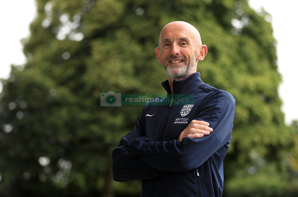 Performance Director for British Athletics Neil Black during the team announcement ahead of the IAAF World Championships, at the Loughborough University High Performance Centre.
