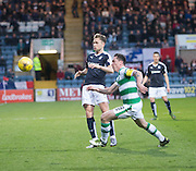 Dundee&rsquo;s Greg Stewart and Celtic captain Scott Brown  - Dundee v Celtic, Ladbrokes Scottish Premiership at Dens Park<br />  <br />  - &copy; David Young - www.davidyoungphoto.co.uk - email: davidyoungphoto@gmail.com