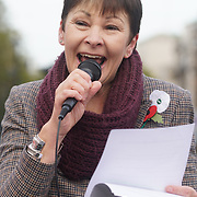 London, UK. 31st October 2017.  Speaker Caroline Lucas MP rally at the Mummies demonstrations across the UK organised by Pregnant Then Screwed on pregnancy and maternity discrimination.
