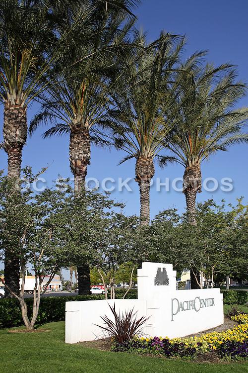 Pacific Center Monument in Anaheim