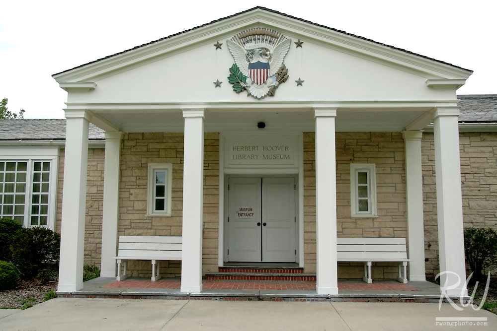 Herbert Hoover Presidential Library and Museum, West Branch, Iowa