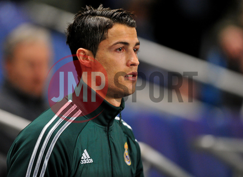 Real Madrid's Christiano Ronaldo  - Photo mandatory by-line: Joe Meredith/JMP  - Tel: Mobile:07966 386802 21/11/2012 - Manchester City v Real Madrid - SPORT - FOOTBALL - Champions League -  Manchester   - Etihad Stadium -