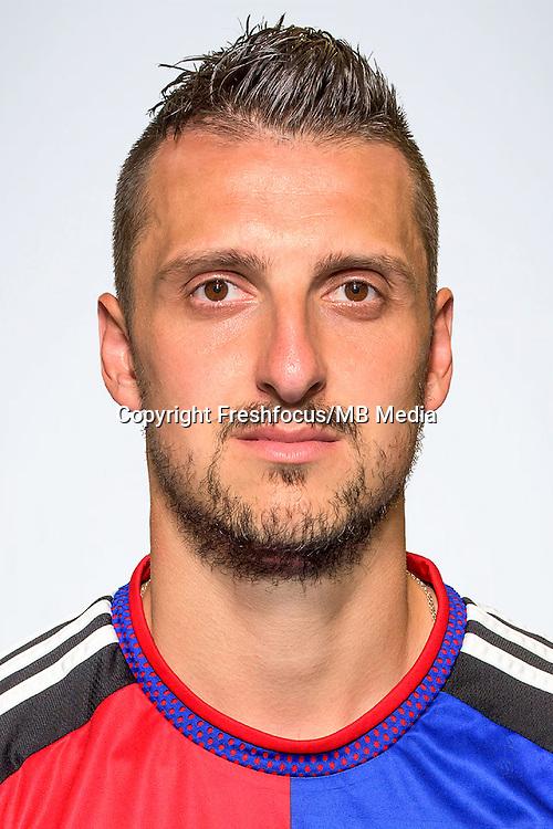 25.06.2015; Basel; Fussball Super League - FC Basel - Portrait; Zdravko Kuzmanovic (Basel)<br />(Sascha Grossenbacher/freshfocus)
