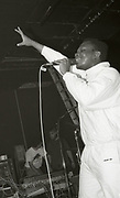 A Guy Called Gerrald rocking the crowd, Manchester, 1989.