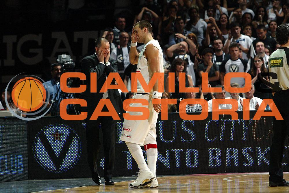 DESCRIZIONE : Bologna Lega A1 2006-07 Playoff Semifinale Gara 2 VidiVici Virtus Bologna Armani Jeans Milano <br />GIOCATORE : Markovski Drejer<br />SQUADRA : VidiVici Virtus Bologna<br />EVENTO : Campionato Lega A1 2006-2007 Playoff Semifinale Gara 2 <br />GARA : VidiVici Virtus Bologna Armani Jeans Milano <br />DATA : 03/06/2007 <br />CATEGORIA : delusione<br />SPORT : Pallacanestro <br />AUTORE : Agenzia Ciamillo-Castoria/G.Livaldi