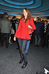 ANGELA RADCLIFFE at the launch of famed American fitness club 'Equinox' 99 High Street Kensington, London on 23rd October 2012.