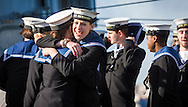 Female ratings hug as the type 23 frigate HMS Richmond returns to Portsmouth Royal Navy Base following a seven-month deployment to the South Atlantic. Picture date: Friday 21st February, 2014. Photo credit should read: Christopher Ison. Contact chrisison@mac.com 07544044177
