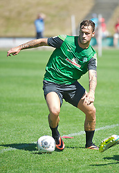 21.07.2013, Blankenhain, GER, SV Werder Bremen, Trainingslager, im Bild Marko Arnautovic (SV Werder Bremen #7) am Ball // during Trainingsession of German Bundesliga Club SV Werder Bremen at Blankenhain, Germany on 2013/07/21. EXPA Pictures © 2013, PhotoCredit EXPA Andreas Gumz <br /> <br /> ***** ATTENTION - OUT OF GER *****