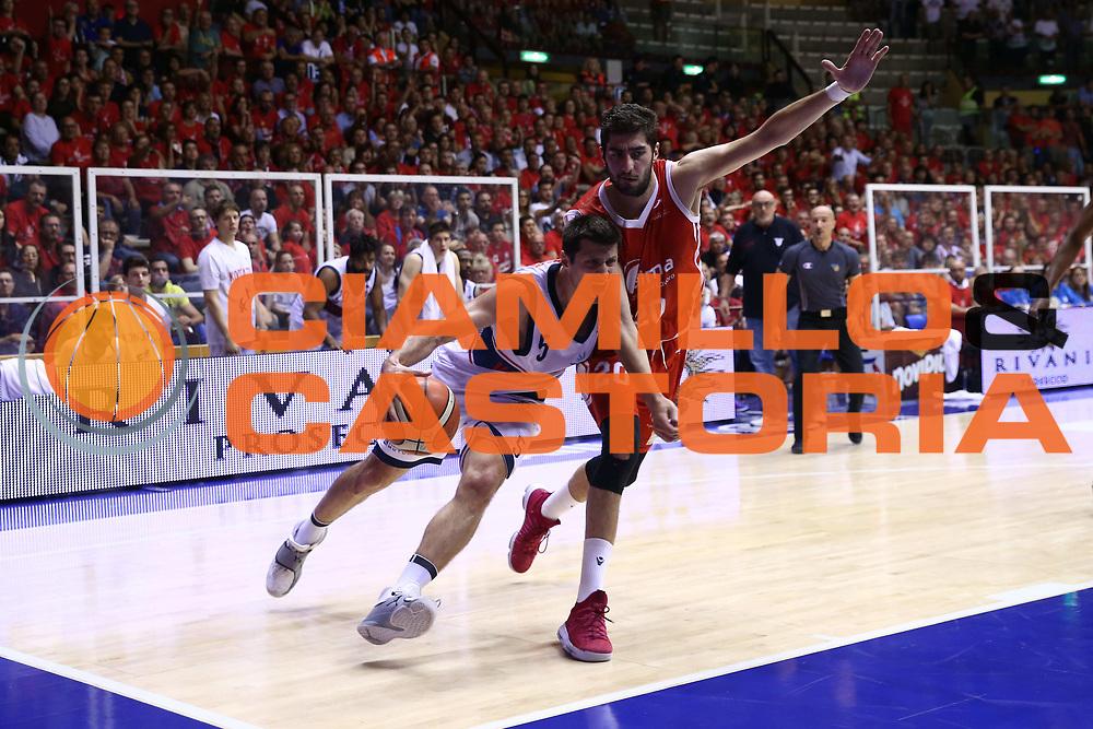 Daniele Cinciarini<br /> Alma Trieste - SKontatto Foritutdo Bologna<br /> Campionato Basket LNP 2016/2017<br /> Play Off Semifinali Gara 5<br /> Trieste 08/06/2017<br /> Foto Ciamillo-Castoria/A.Gilardi