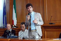 DARIO MANTOVANI SINDACO DI MOLINELLA<br /> INCONTRO CARABINIERI MOLINELLA SULLA SICUREZZA
