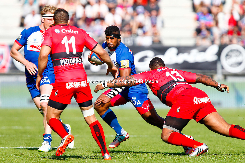 Alipate RATINI  - 11.04.2015 - Grenoble / Toulon  - 22eme journee de Top 14 <br />Photo :  Jacques Robert / Icon Sport