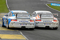 2009 Porsche Carrera Cup Great Britain.  Knockhill, Scotland, United Kingdom.  15th-16th August 2009.  (48) - Oliver Jackson - Motorbase Performance.  World Copyright: Peter Taylor/PSP. Copy of publication required for printed pictures. Every used picture is fee-liable.
