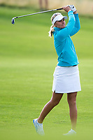 Bildnummer: 14242726  Datum: 17.08.2013  Copyright: imago/Icon SMI<br /> 17 AUGUST 2013: Anna Nordqvist of Sweden and the European Team hits the third shot on the first hole during the foursome matches on day 2 of The Solheim Cup at the Colorado Golf Club in Parker, Colorado. GOLF: AUG 17 LPGA Golf Damen - The Solheim Cup - Second Round <br /> Norway only