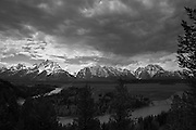 Snake River overlook in Grand Teton National Park